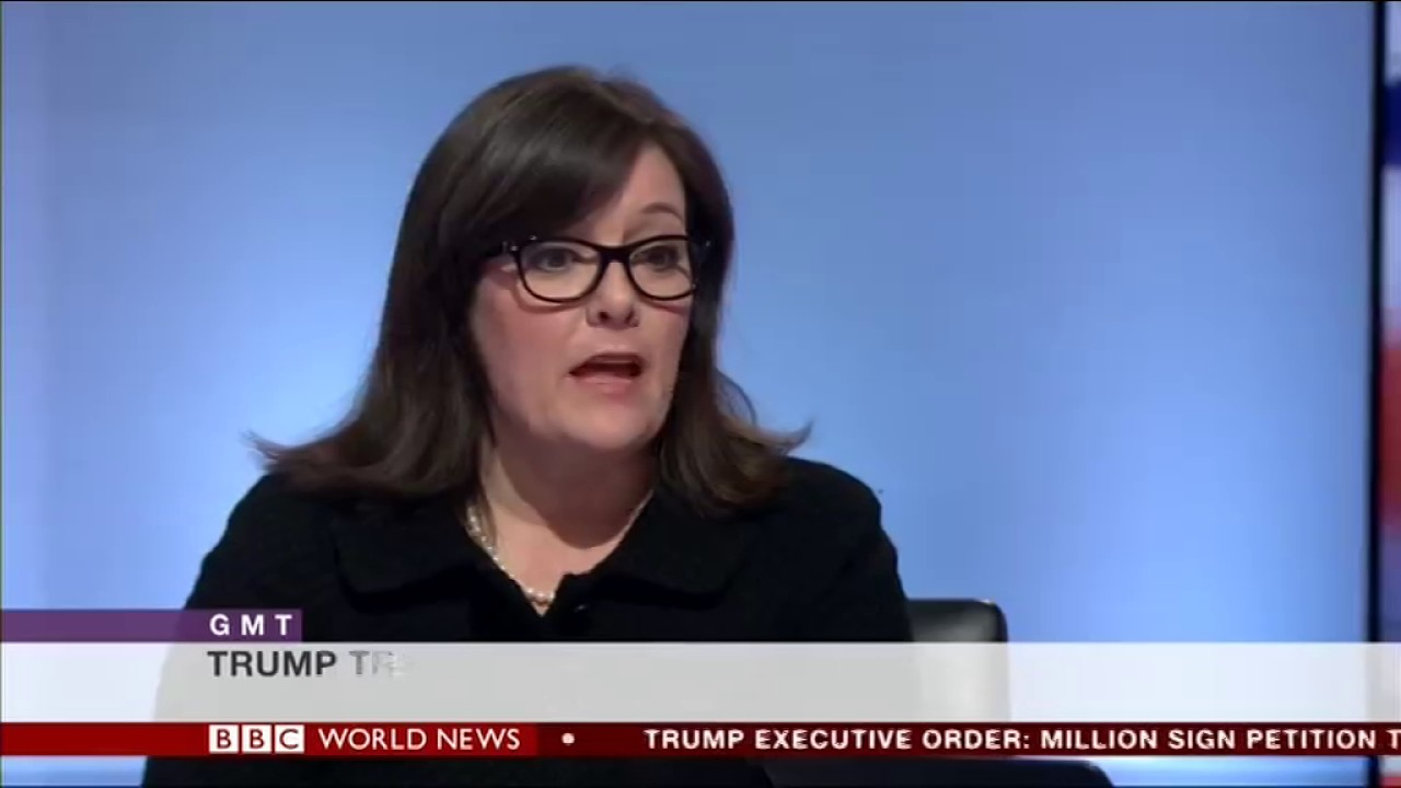 Sanam Naraghi-Anderlini BBC World News Interview on Trump Travel Ban