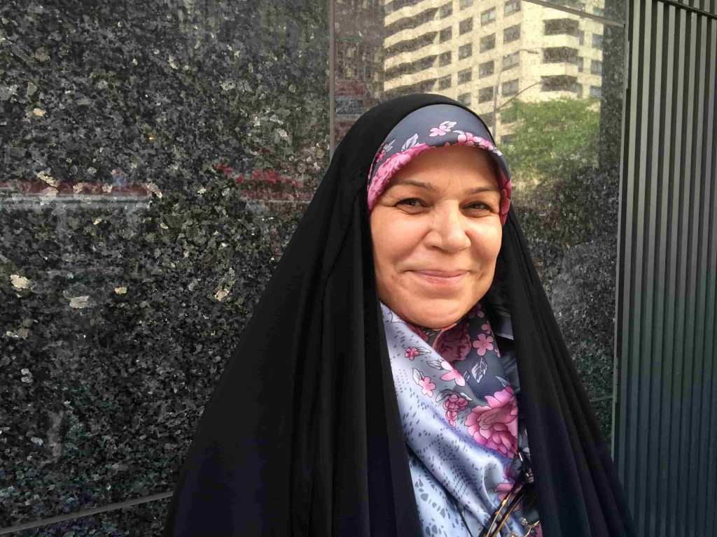 Fatima al-Bahadly, director of Al Firdaws Society, Iraq