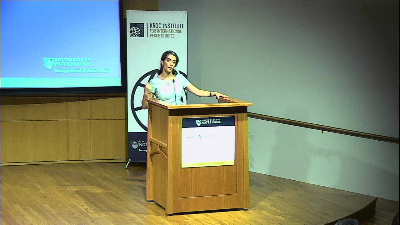 Featured Speaker: Sanam Naraghi-Anderlini – 2016 Dialogues on Nonviolence, Religion and Peace