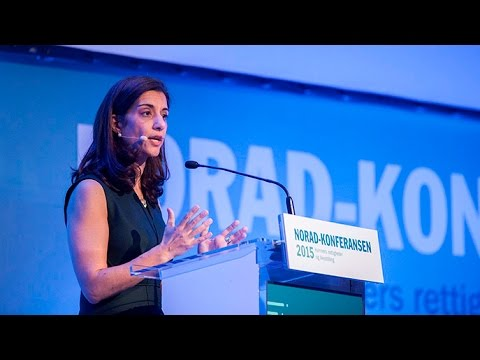 Sanam Naraghi-Anderlini speaks at The Norad Conference 2015