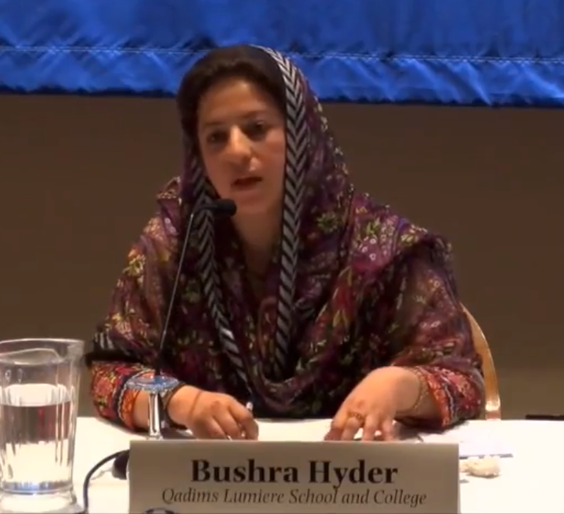 Pakistani peacebuilder, Bushra Hyder, fighting off call for jihad for Rohingya