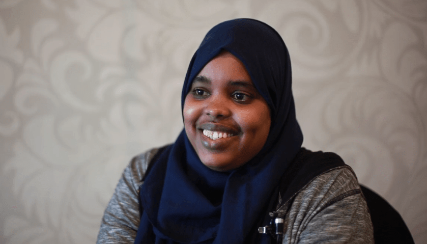 Faiza Dhocob is Fighting Terror in Somalia in the Face of Destruction