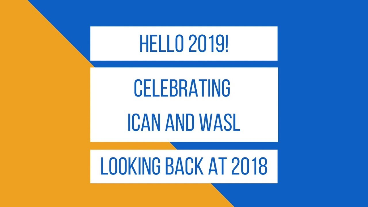 ICAN in 2018