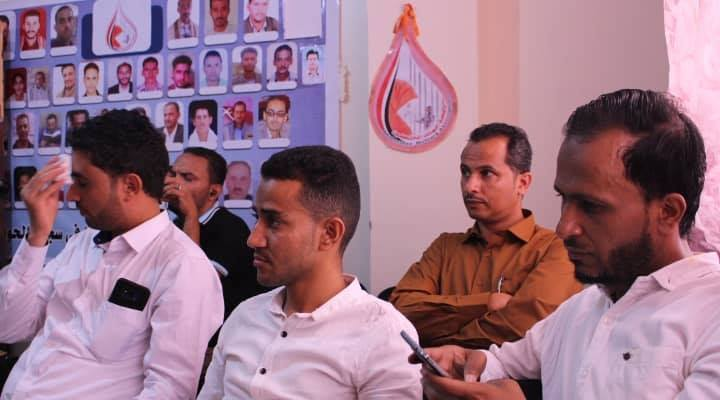Some of the released during a hearing session organized by the Association