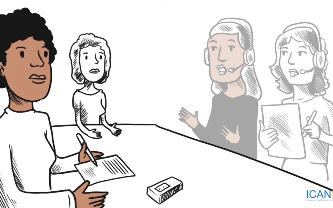 Now in Russian, Gendered Transitional Justice and Gender Responsive Ceasefires Animations