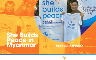 She Builds Peace in Myanmar