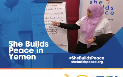 She Builds Peace in Yemen