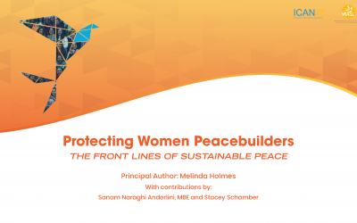 Protecting Women Peacebuilders: The Front Lines of Sustainable Peace