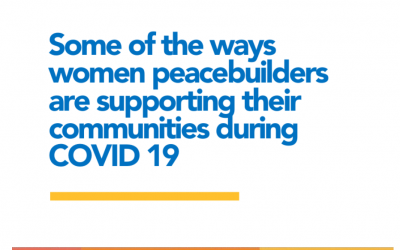 Women Peacebuilders Supporting their Communities during COVID