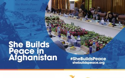 She Builds Peace in Afghanistan: AWNA