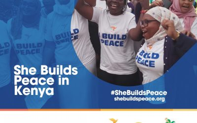 She Builds Peace in Kenya