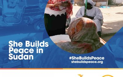 She Builds Peace in Sudan