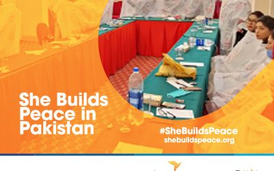 She Builds Peace in Pakistan