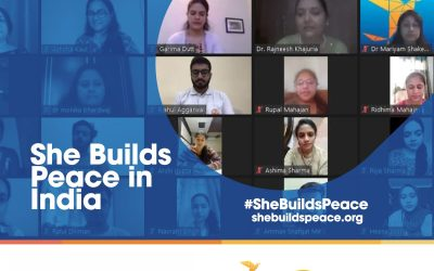 She Builds Peace in India