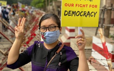"""""""We are not afraid, we are resisting"""": A strong message from the Director of Myanmar's Gender Equality Network"""