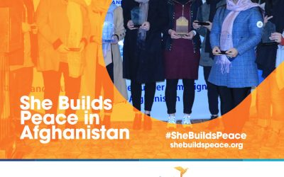 She Builds Peace in Afghanistan: AWSDC