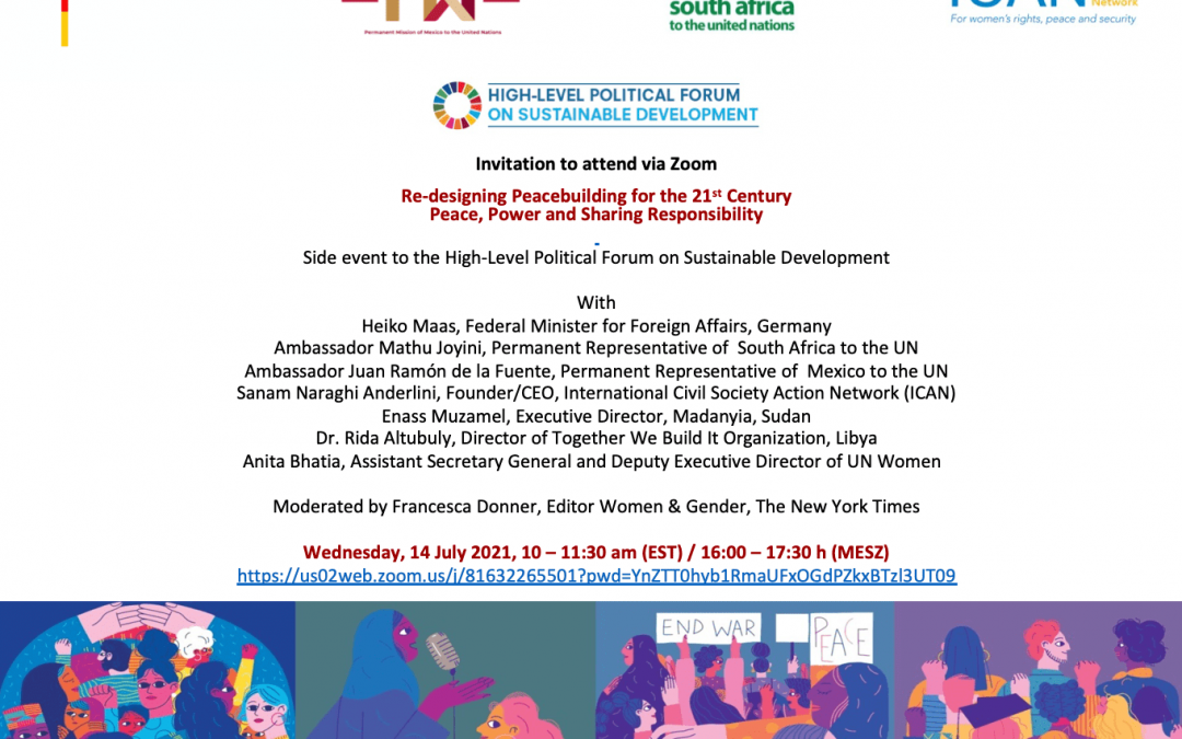 Upcoming Event: Re-designing Peacebuilding for the 21st Century