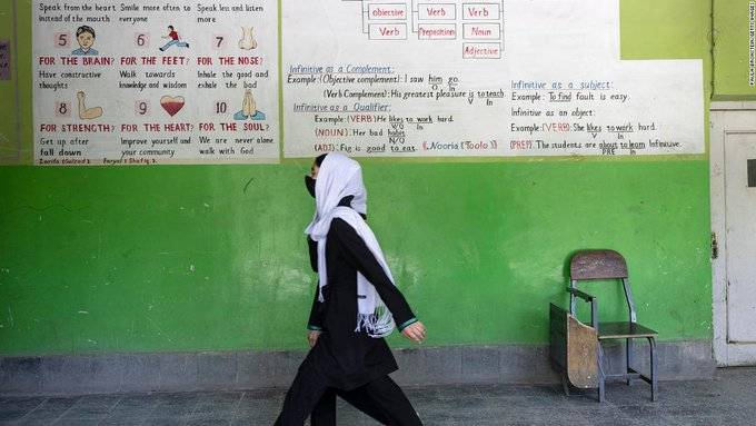 The Taliban have seized control of Afghanistan. What does that mean for women and girls? (CNN)